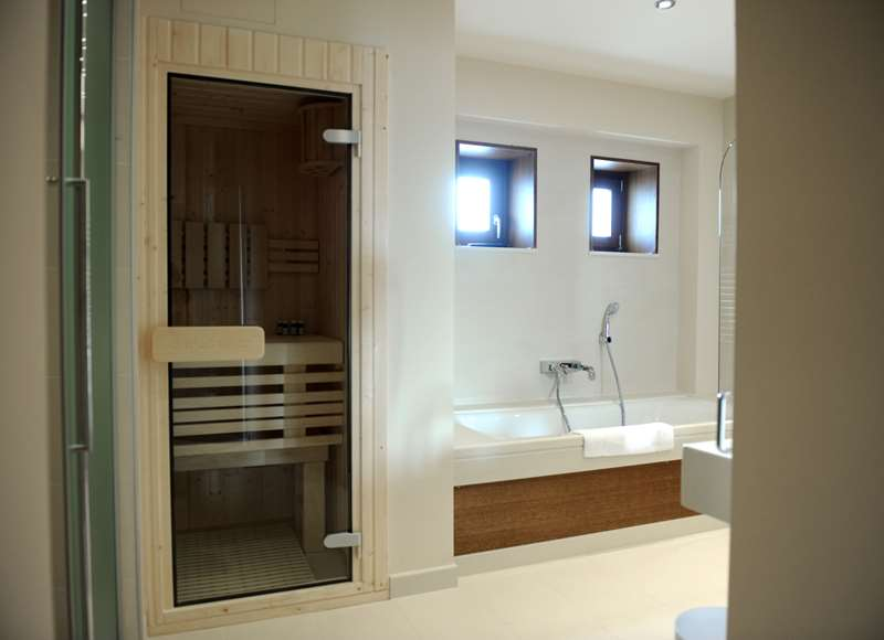 Creta Maris Pool Villa Bathroom 2