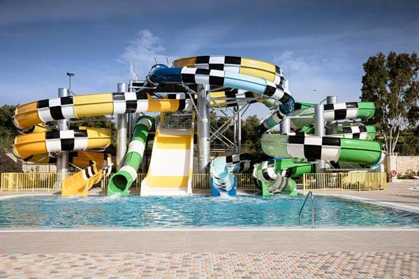 9f74b504 An Exclusive Waterpark Adventure in Creta Maris Beach Resort full of heart  stopping, adrenaline pumping, record breaking waterslides, rides and aqua  towers!