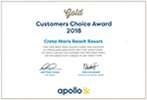 Apollo Gold Customers Choice 2019