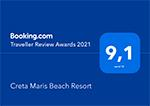 Booking.com: 2021 Award of Excellence